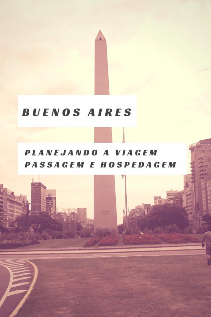 Buenos Aires - planejamento - passagem e hospedagem