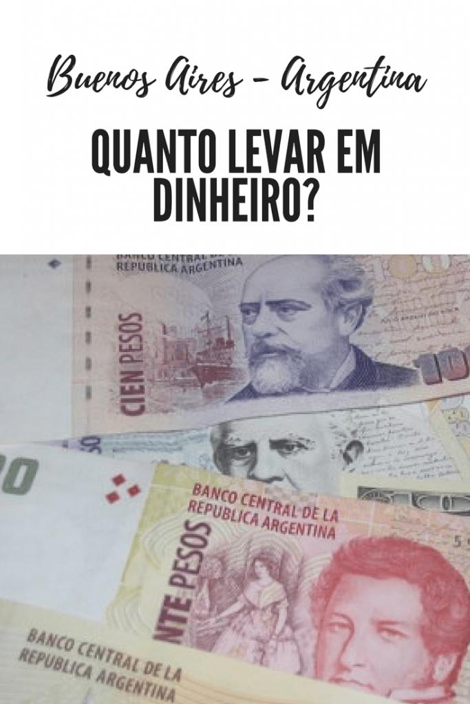 Quanto levar em dinheiro para Buenos Aires?