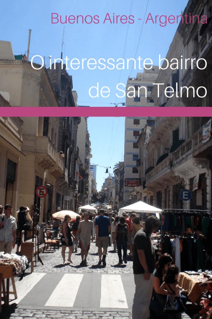 O interessante bairro de San Telmo em Buenos Aires