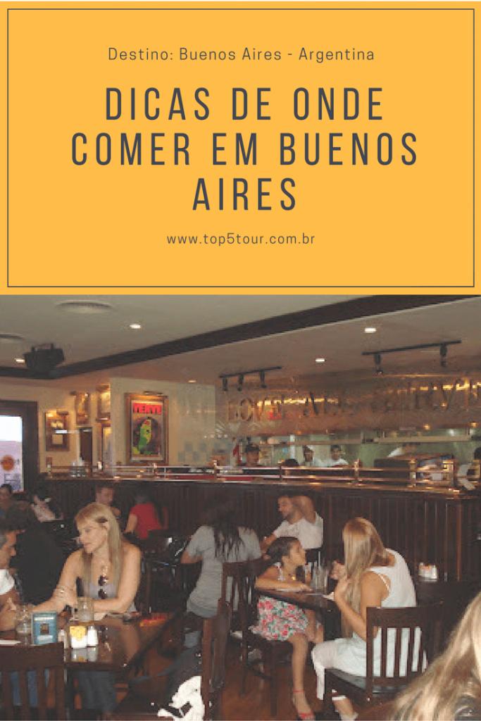 Dicas de onde comer em Buenos Aires