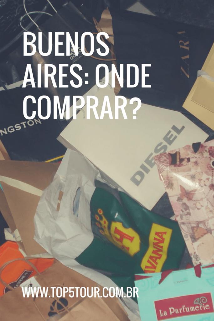 Dicas de onde comprar em Buenos Aires - lojas e outlets