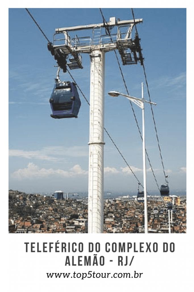 Teleférico do Complexo do Alemão - RJ