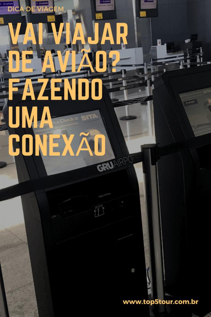 o que é conexão em aeroporto
