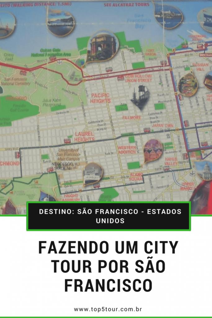 Fazendo um city tour por São Francisco