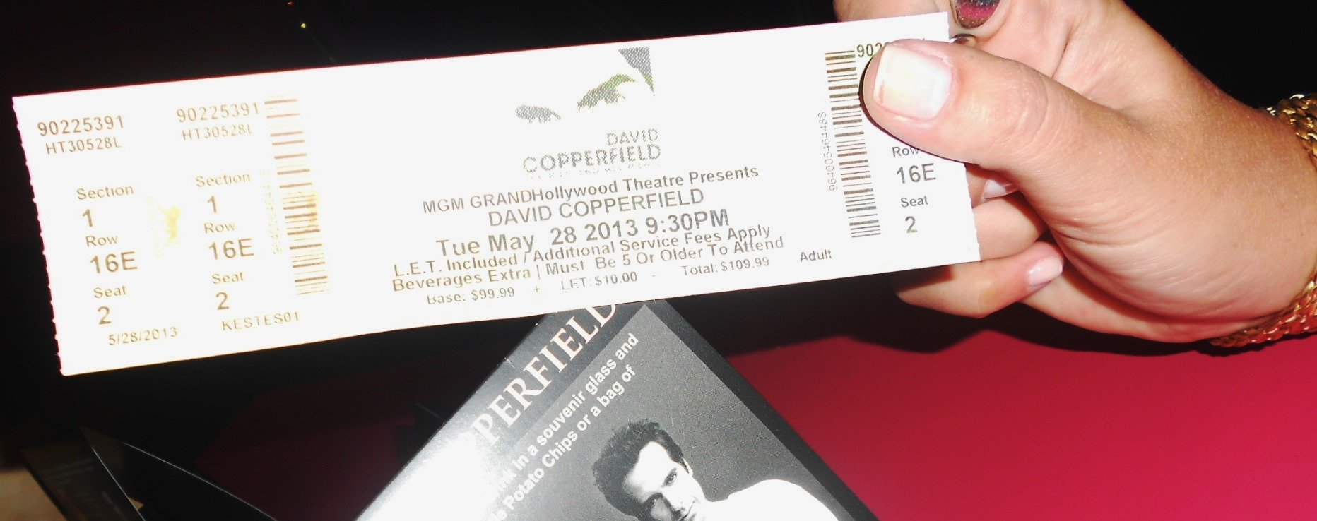 Tickets para as atrações em Las Vegas