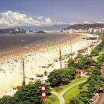 As praias de Santos, São Paulo