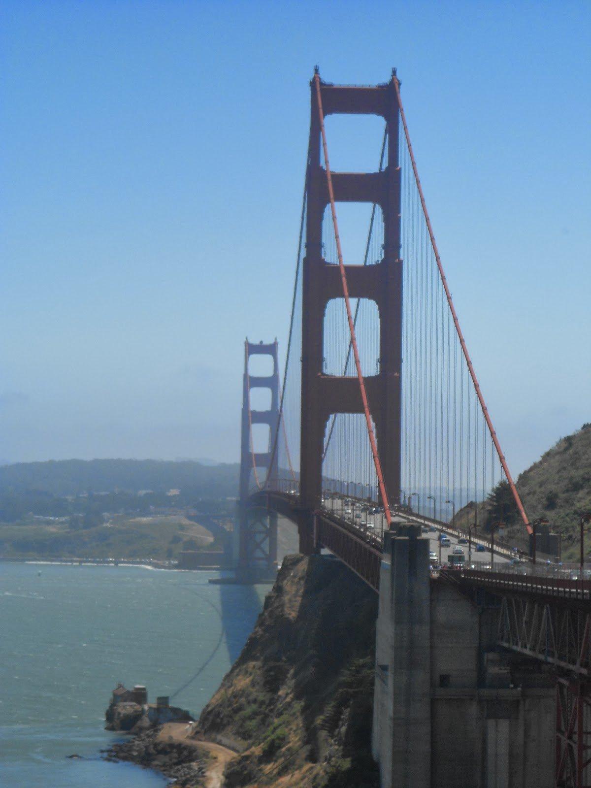 São Francisco: atravessando a Golden Gate