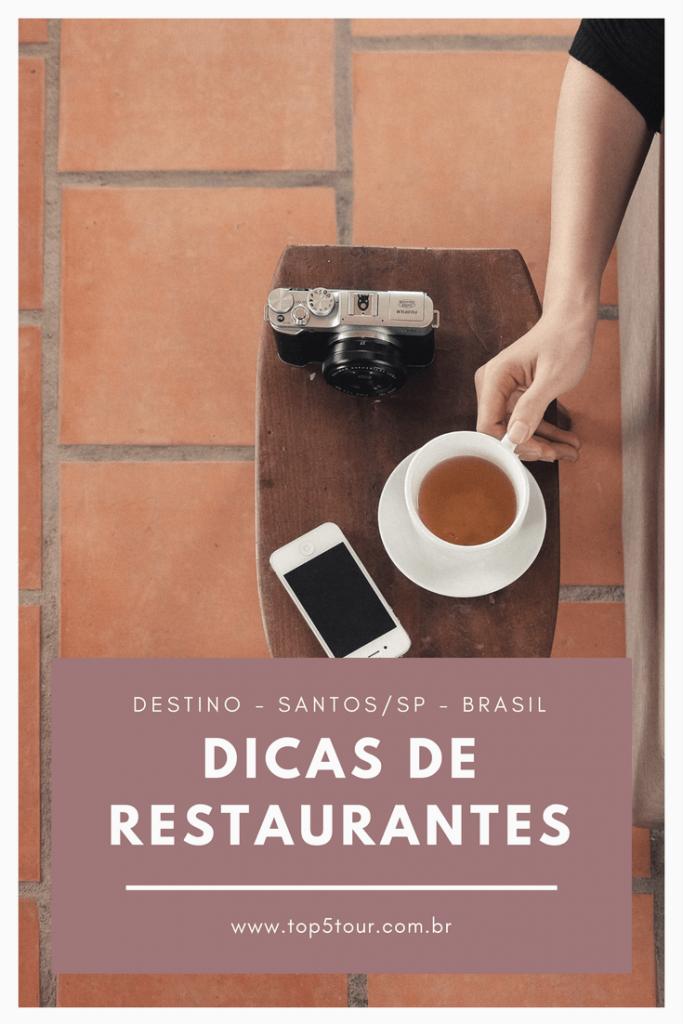 Dicas de restaurantes em Santos - São Paulo