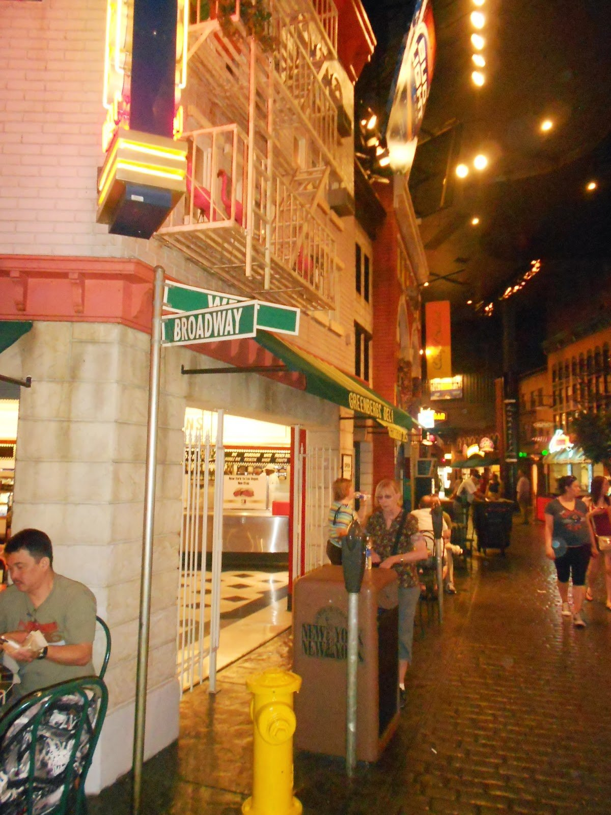 Las Vegas: o hotel cassino New York New York