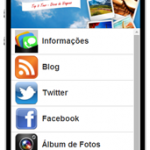 Aplicativo gratuito do blog Top 5 Tour para o seu smartphone e tablets