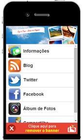 Aplicativo gratuito do blog Top 5 Tour para o seu smartphone e tablets
