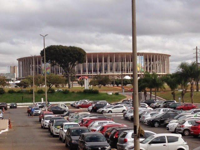 Brasilia: Jogo Brasil x Camarões no Estádio Mané Garrincha