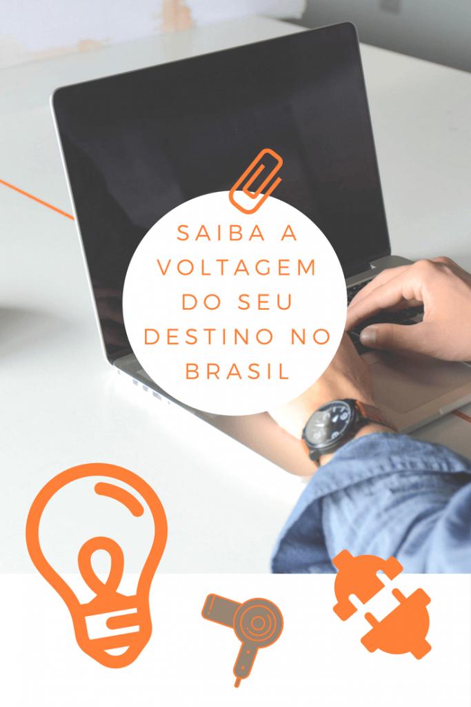 Saiba a voltagem do seu destino no Brasil