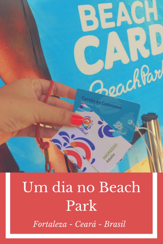 Um dia no Beach Park em Fortaleza