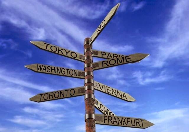 organizando uma viagem