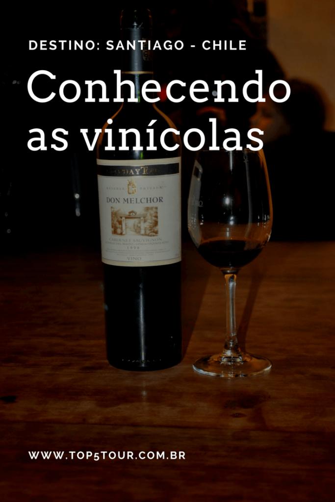 Conhecendo as Vinícolas por Santiago no Chile
