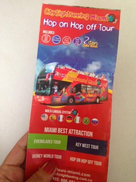 A hora do city tour em Miami