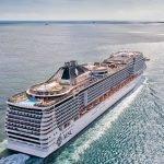 Navegando com o MSC Divina no Caribe