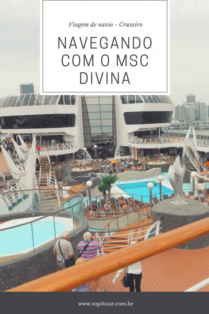 Navegando com o MSC Divina