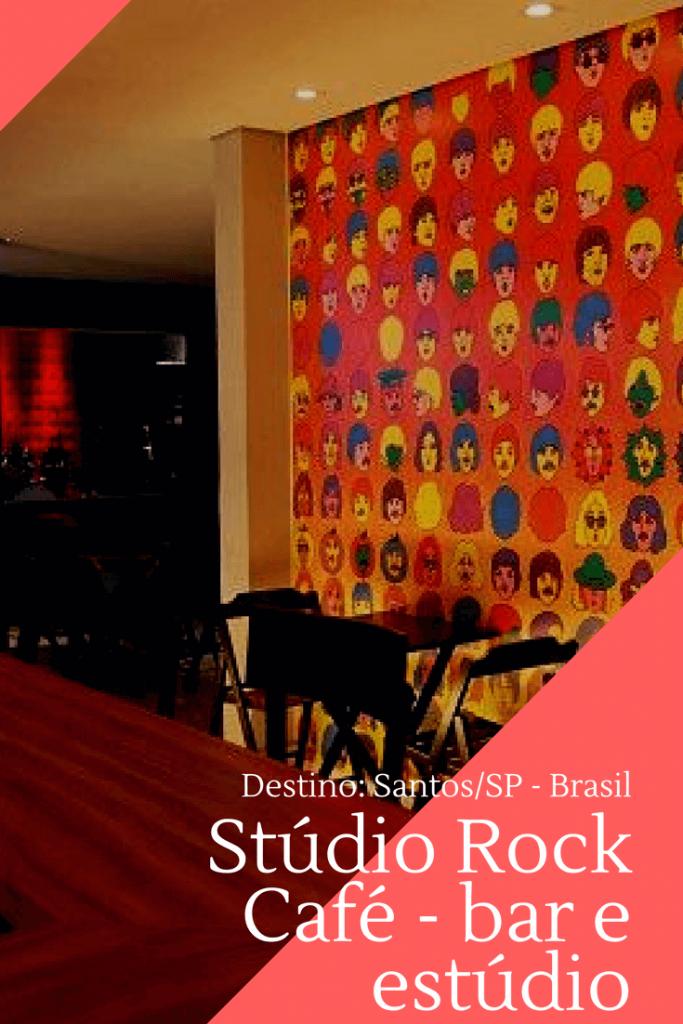 Dicas do que fazer em Santos: Studio Rock Café