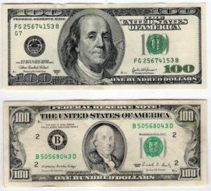 Mais alteração no dólar? Sim, nas notas de 100