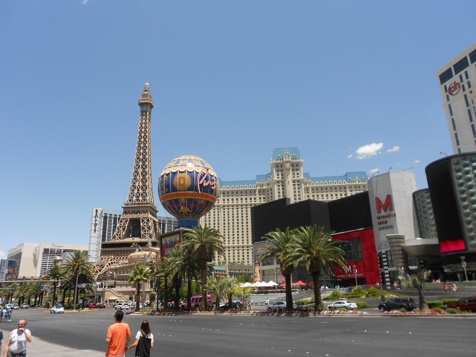 Las Vegas: Hotel Cassino Paris também está por lá
