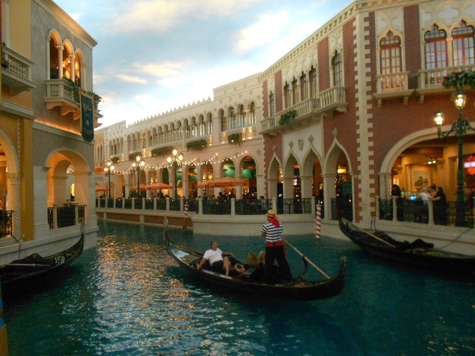 "Las Vegas: e agora o Hotel Cassino ""The Venetian"""