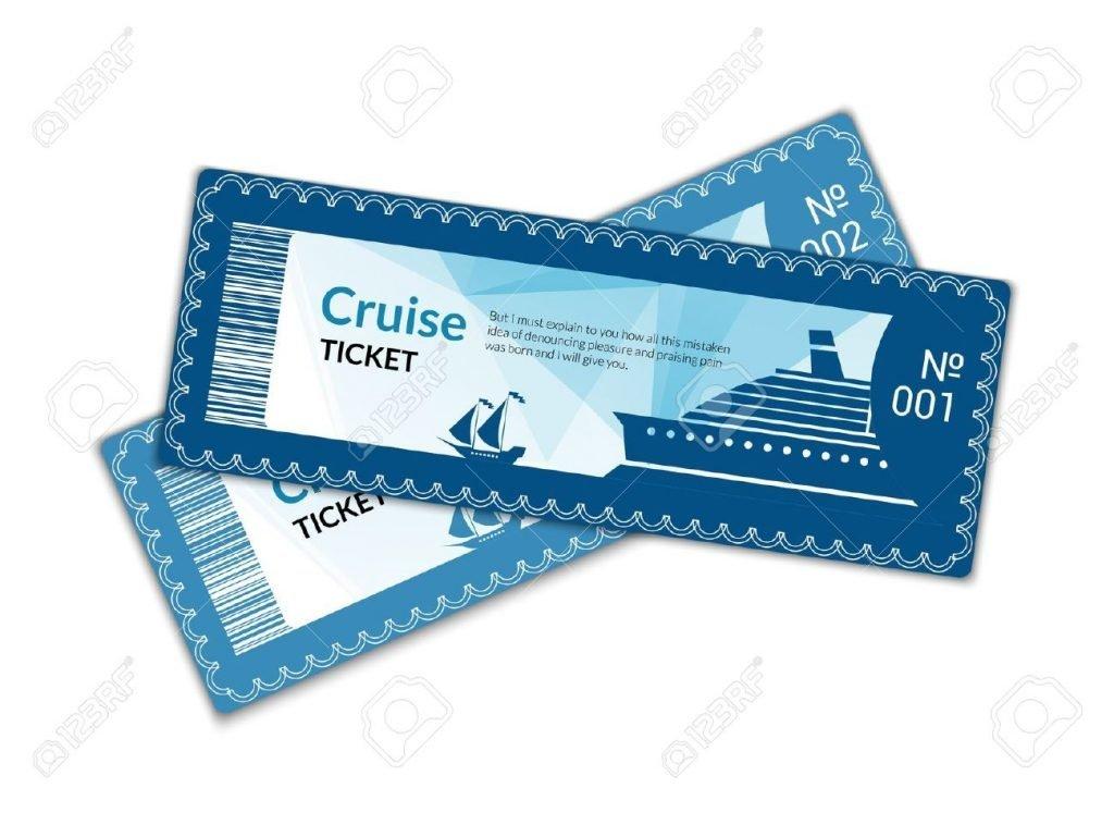 cruise ticket