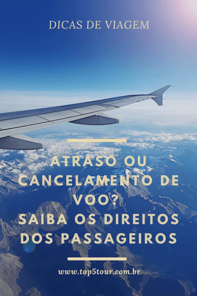 Saiba o que fazer no caso de atraso de voo.