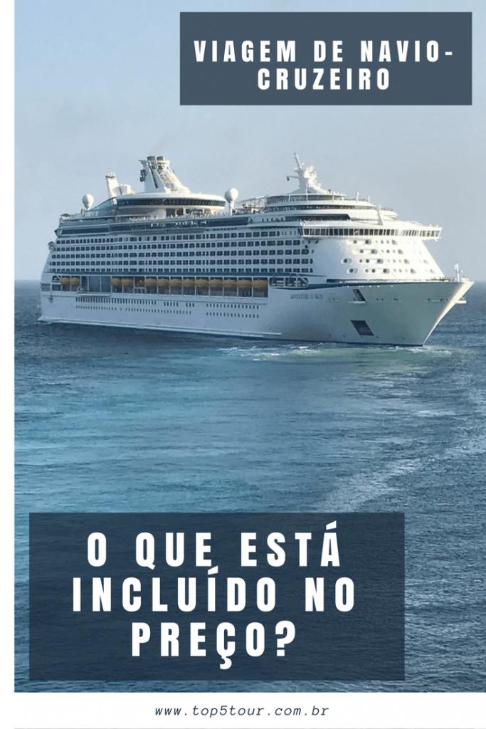 Viagem de navio - o que está incluído no preço?