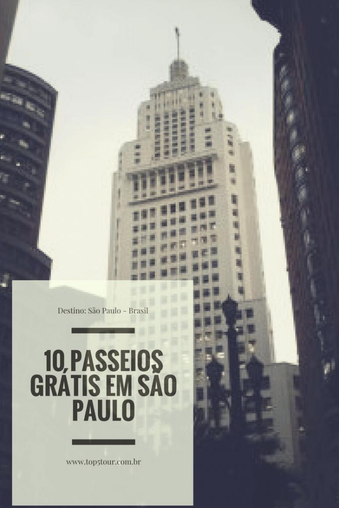 Dicas de 10 passeios grátis em São Paulo - capital