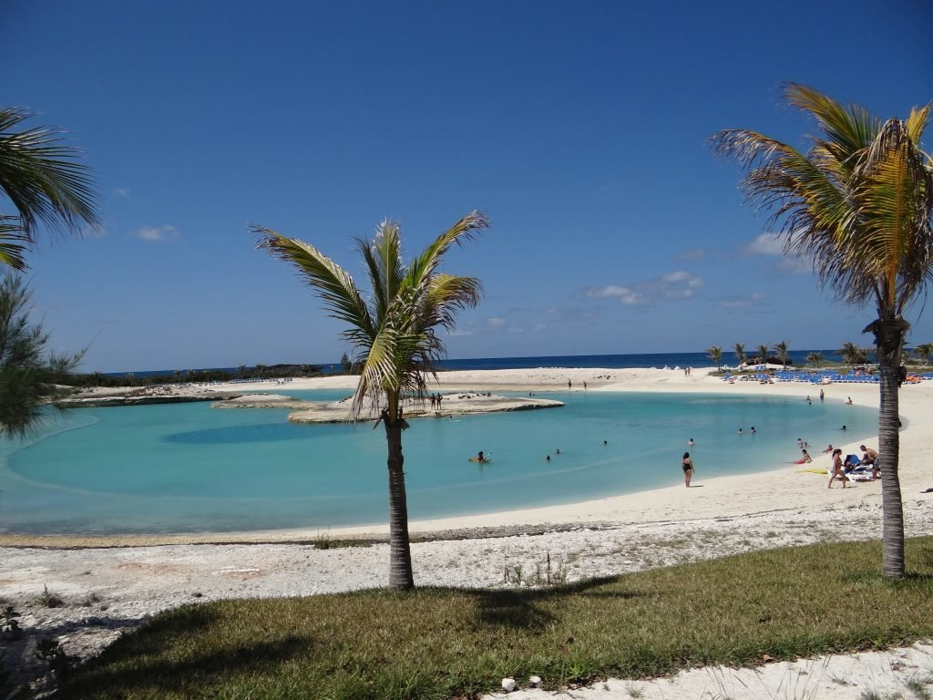 "Momento ""lagoa azul"" - Great Stirrup Cay"