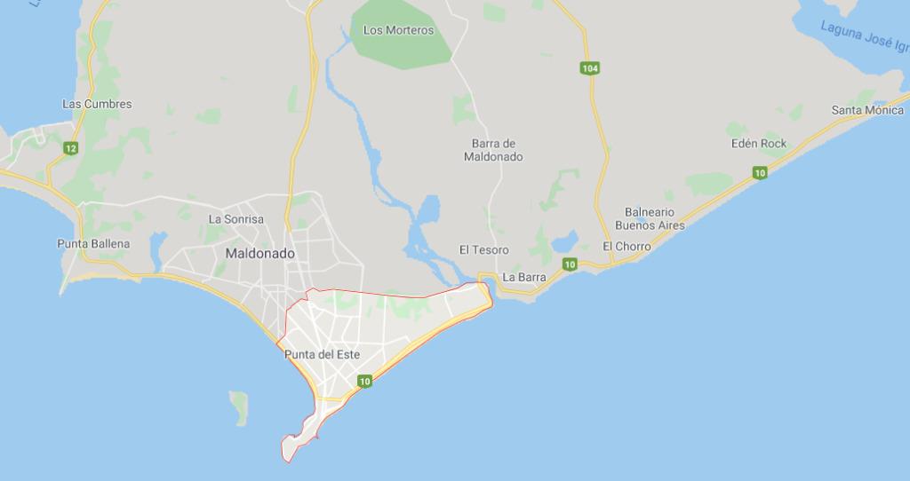 punta del este no litoral do uruguai