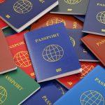 As cores dos passaportes. Saiba o significado