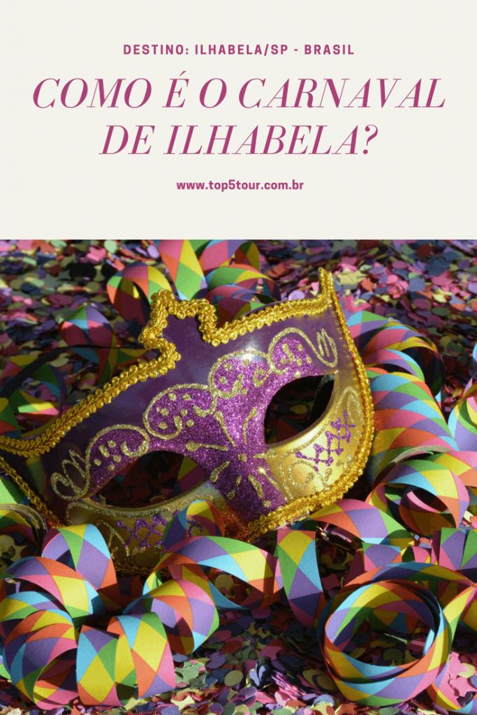 Carnaval em Ilhabela, litoral de SP