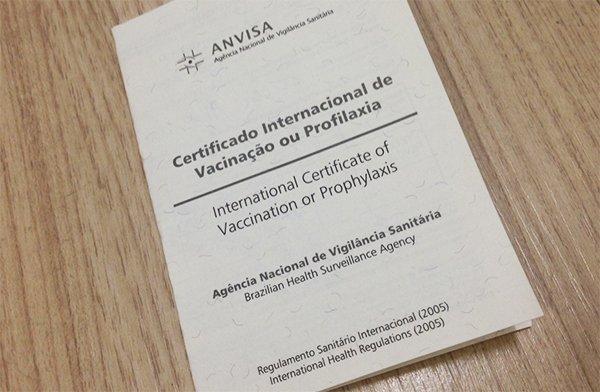 Certificado Internacional de Vacinação