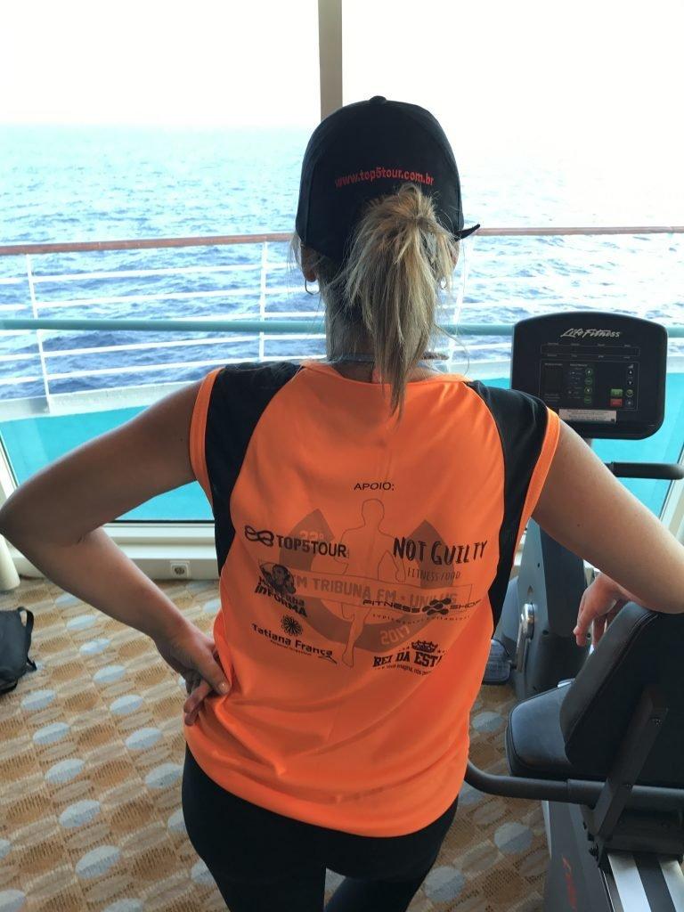 participando dos 10km em alto mar
