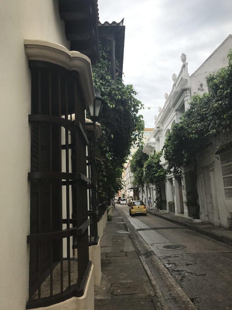 Cartagena - ruas dentro da cidade murada