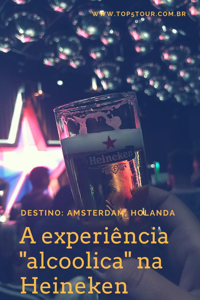 A experiência na Heineken - Amsterdam