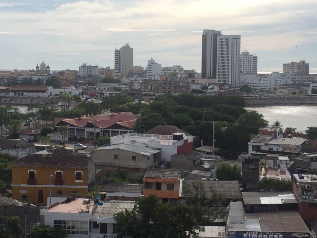 Cartagena vista do Castelo de San Felipe de Barajas
