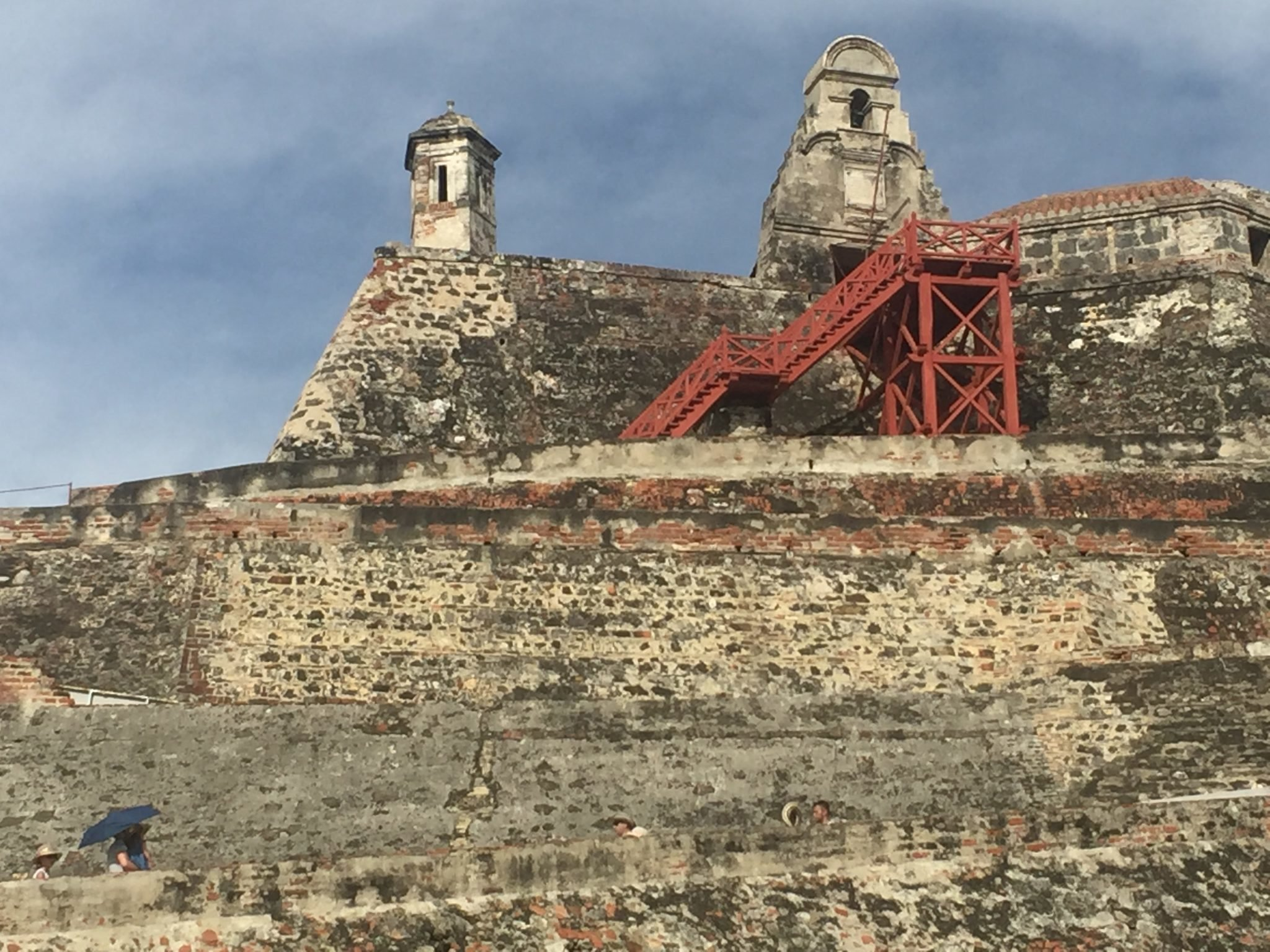 Cartagena e o Castelo de San Felipe de Barajas