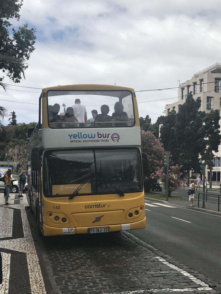 City tour pela Ilha da Madeira com o Yellow Bus o que fazer na ilha da madeira