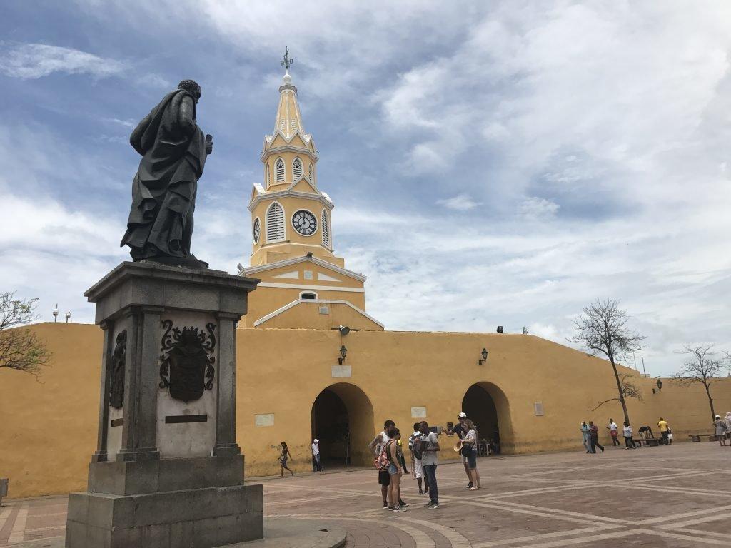 Torre do Relógio em Cartagena