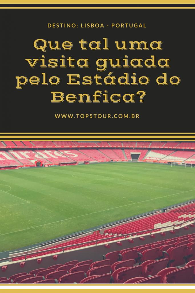 Visita guiada no estádio do Benfica em Lisboa, Portugal