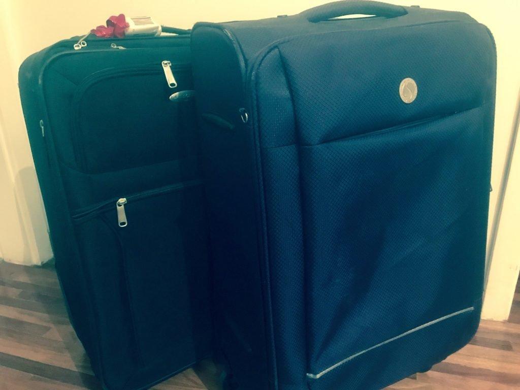 mala despachada - segurança extra