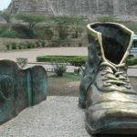 Cartagena: o monumento dos Sapatos Velhos