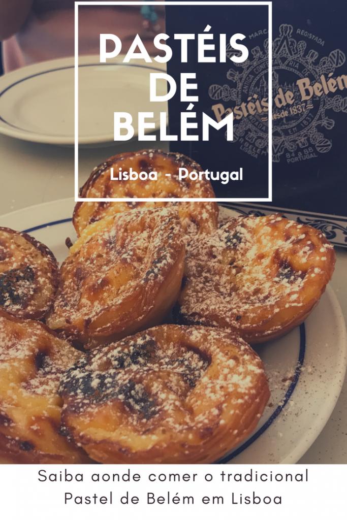Pastéis de belém em Lisboa, Portugal
