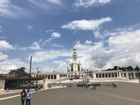 Santuário de Fátima, em Fátima, Portugal