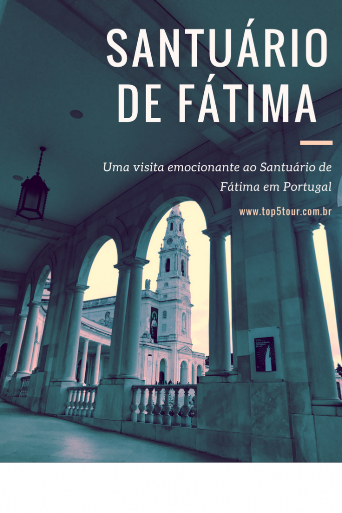 Santuário de Fátima em Portugal