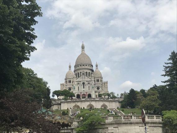Basílica de Sacre Coeur em Paris
